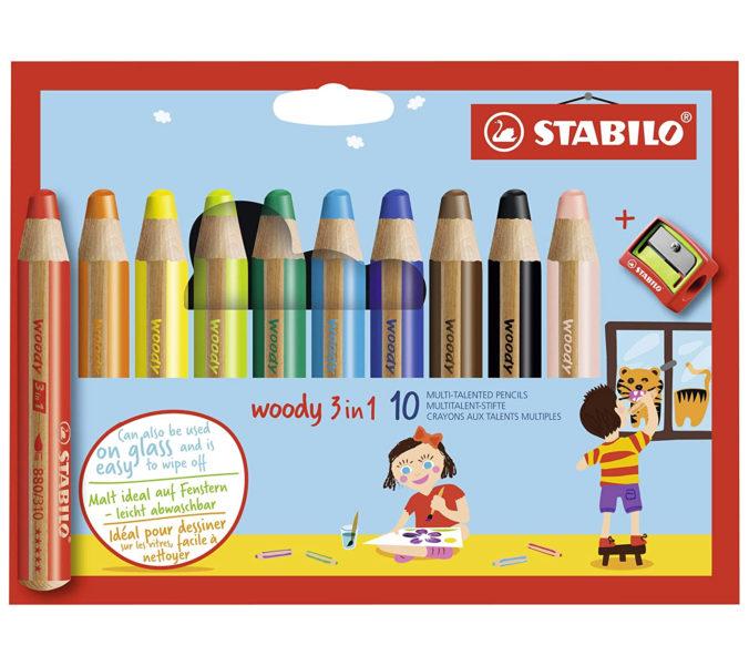 Woddy Stifte von Stabilo