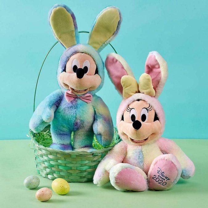 Mickey und Minnie Mouse Ostern Kuscheltier