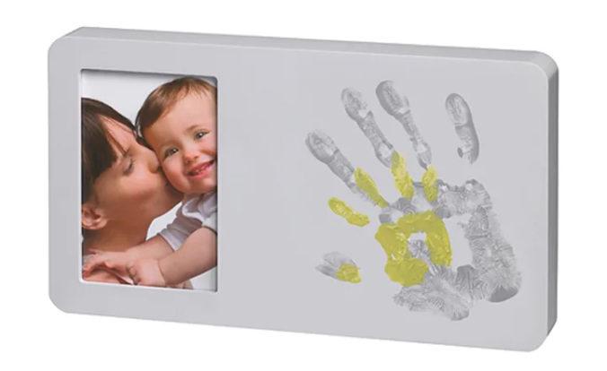 Abdruckset mit Bilderrahmen für Babys