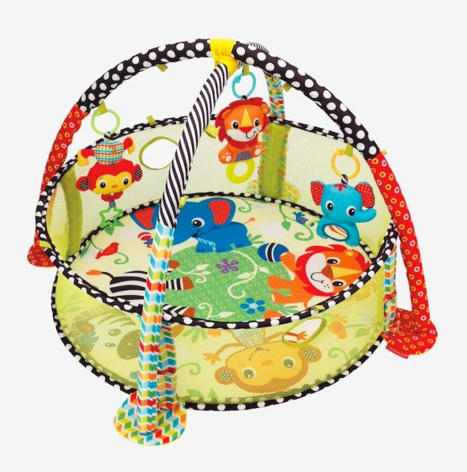Activitydecke mit Bällebad für Babys und Kleinkinder