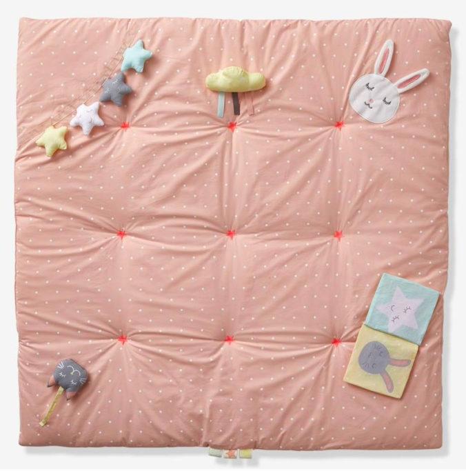 Rosa Activtiydecke Sweet fun für Babys