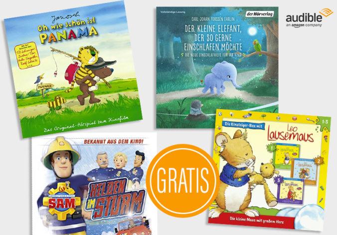 Kinder-Hörbücher bei Audible