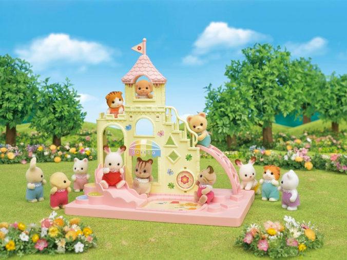 Sylvanian Spielset Baby Abenteuer Schloss