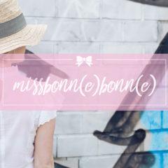 MissBonn(e)Bonn(e) Blog