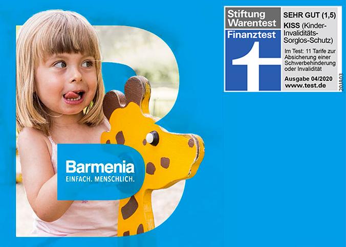 Barmenia Unfallversicherung für Kinder