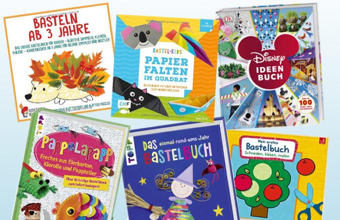 verschiedene Bastelbücher für Kinder