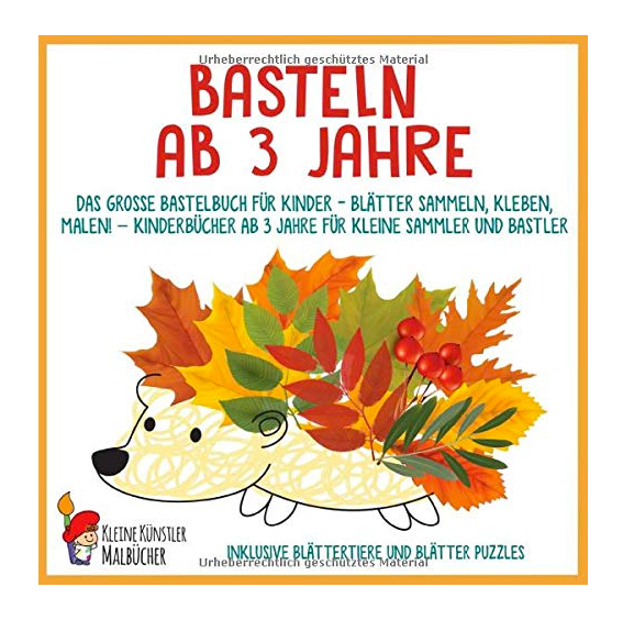 """Buch """"Basteln ab 3 Jahre"""""""