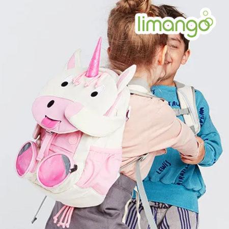 Mädchen mit Einhorn Rucksack von Affenzahn