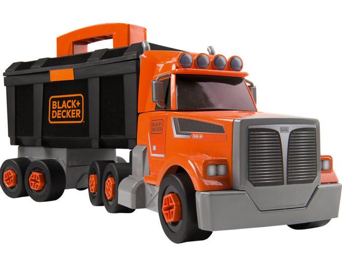 Black + Decker Spielzeug Truck inkl. Werkzeugkiste
