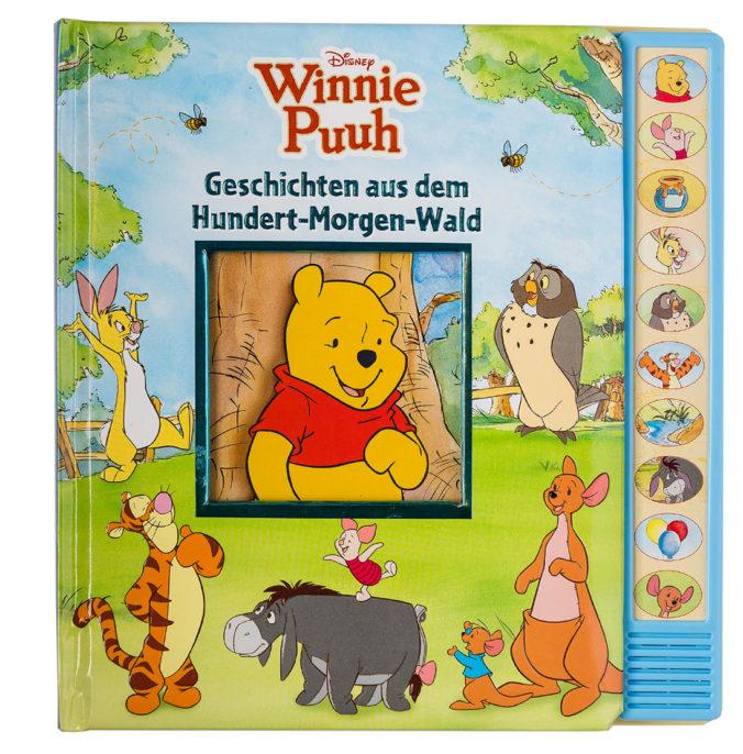 Winnie Puuh Buch mit Geräuschen