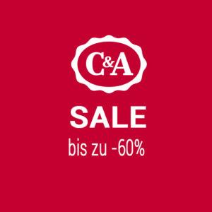C&A: Bis zu 60% Rabatt im SALE und gratis Versand