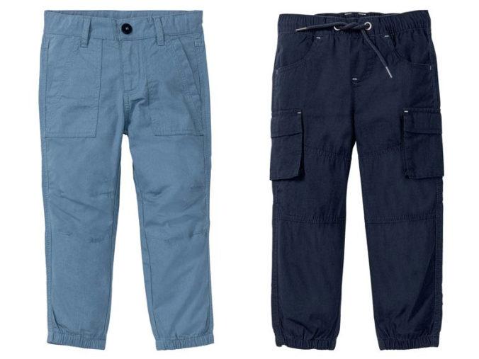 blaue Cargo-Hosen für Jungen
