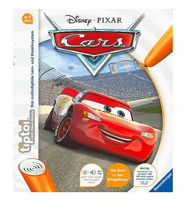 "tiptoi Buch ""Disney Cars"""