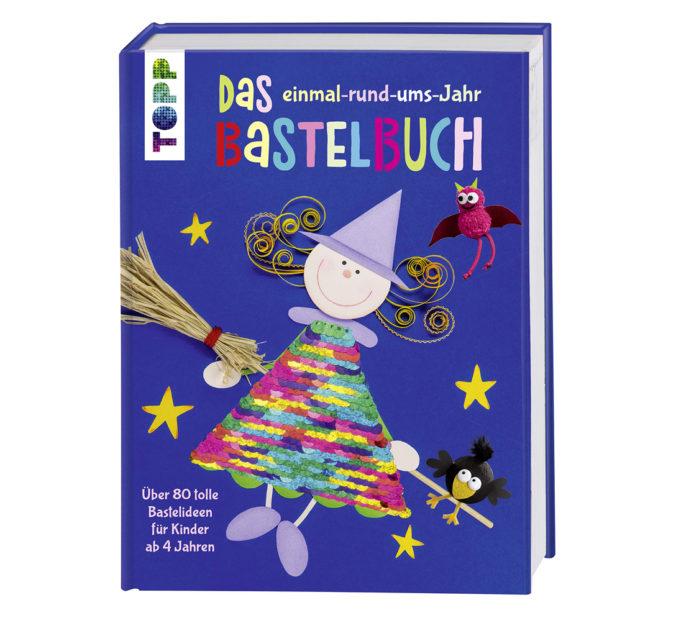 """Cover von """"Das einmal rund ums Jahr Bastelbuch"""""""