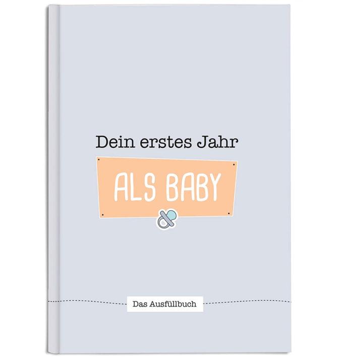 """Babytagebuch """"Dein erstes Jahr als Baby"""""""