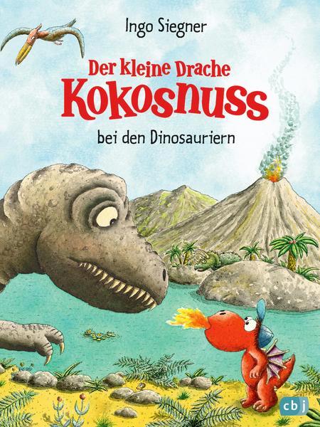 """Buch """"Der kleine Drache Kokosnuss bei den Dinosauriern"""""""