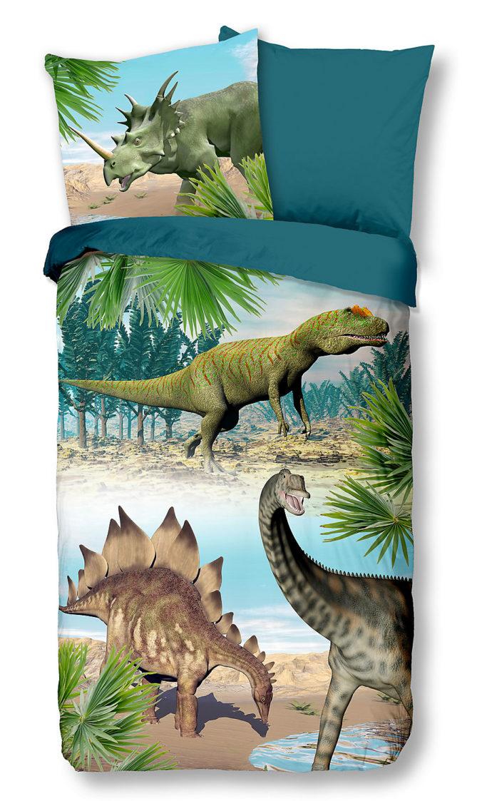 Dino-Wendebettwäsche für Kinder