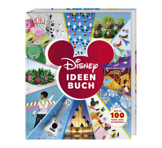 "Cover vom ""Disney Ideen Buch"""