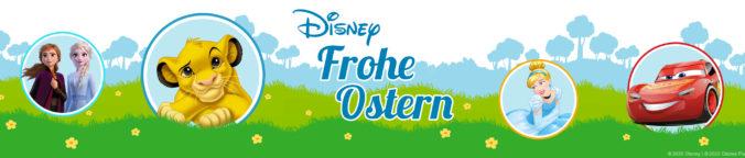 Ostergrafik mit Disney-Motiven