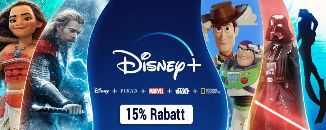 Disney+ Rabatt