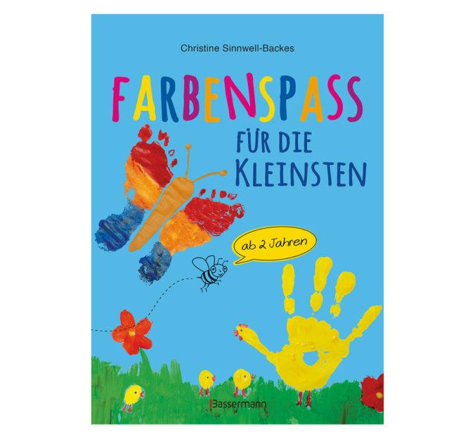 """Cover vom Buch """"Farbenspaß für die Kleinsten"""""""