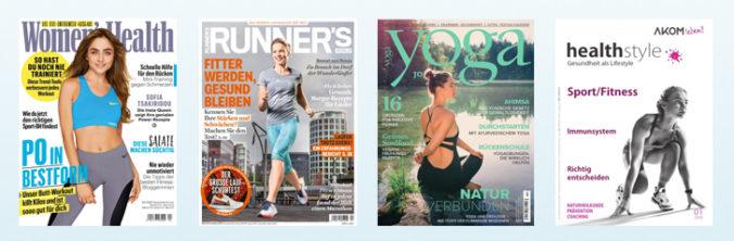 Fitnesszeitschriften