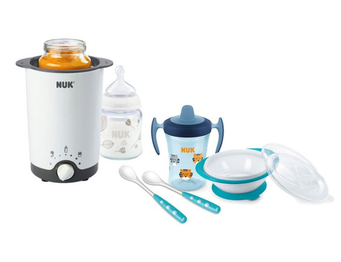 Flaschewärmer und Esslern-Set für Babys