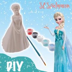 Elsa-Spardose zum selber bemalen