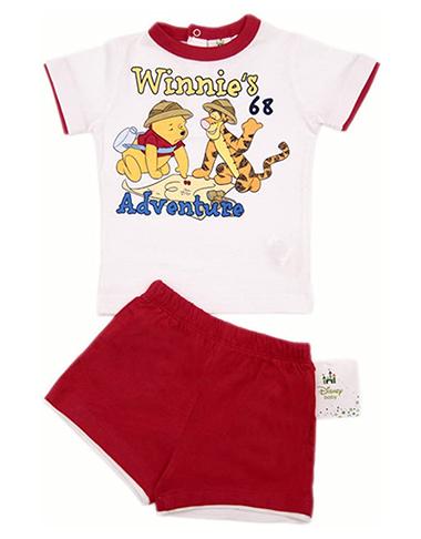 Hose und T-Shirt mit Winnie Puuh und Tigger für Kinder