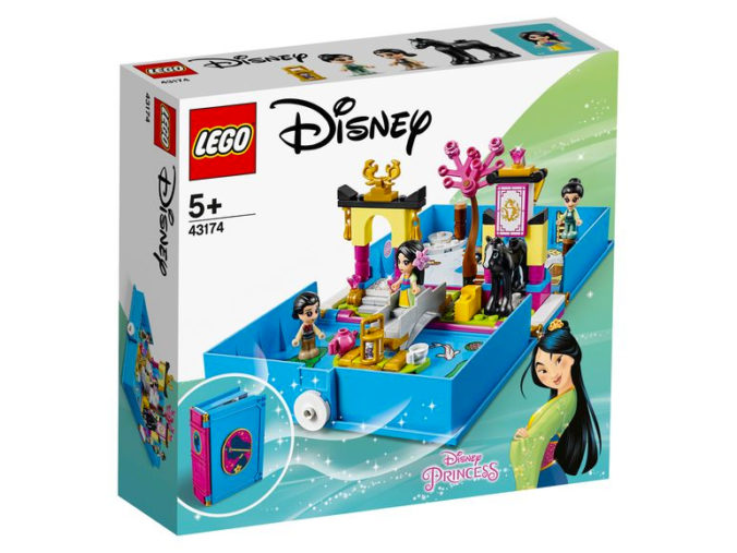 Lego Mulan Märchenbuch