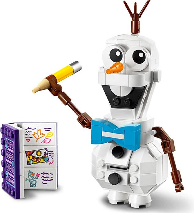 Lego Figur Olaf von Frozen