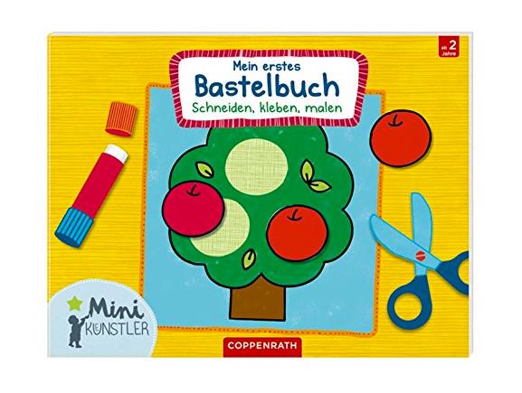 """Cover von """"Mein erstes Bastelbuch: Schneiden, kleben, malen"""""""