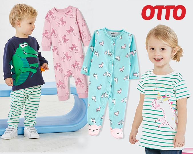 Kinder in Kleidung mit Tier-Design