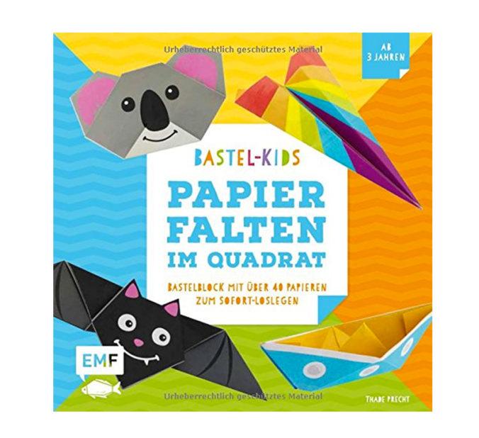 """Cover vom Buch """"Papierfalten im Quadrat"""""""