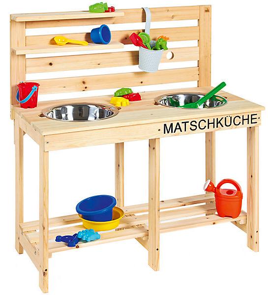 Pinolino Matschküche Paul für Kinder