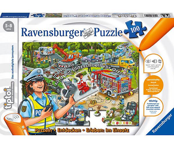 "tiptoi Puzzle ""Im Einsatz"""