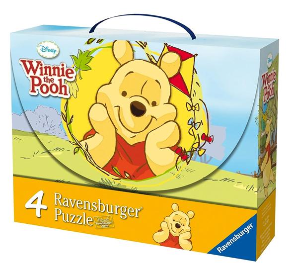 Puzzlekoffer mit Winnie Puuh Motiven