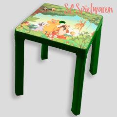 Kindertisch mit Dschungelmotiv