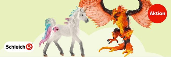 Schleich Pferd und Drache