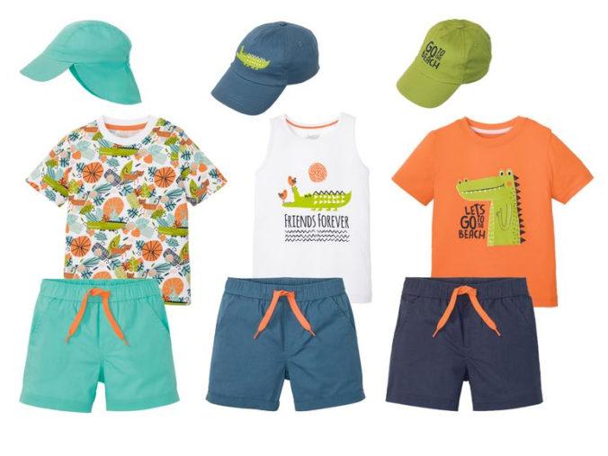Dreiteiliges Modeset für Jungen