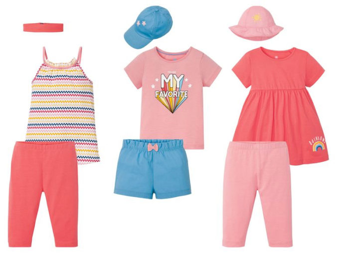 dreiteiliges Modeset für Mädchen