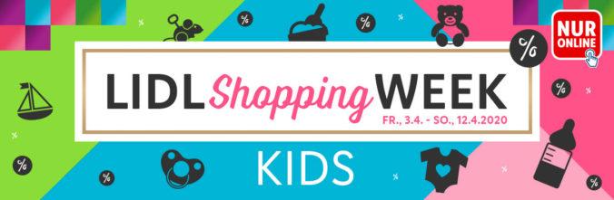 Werbebanner LIDL Shopping Week