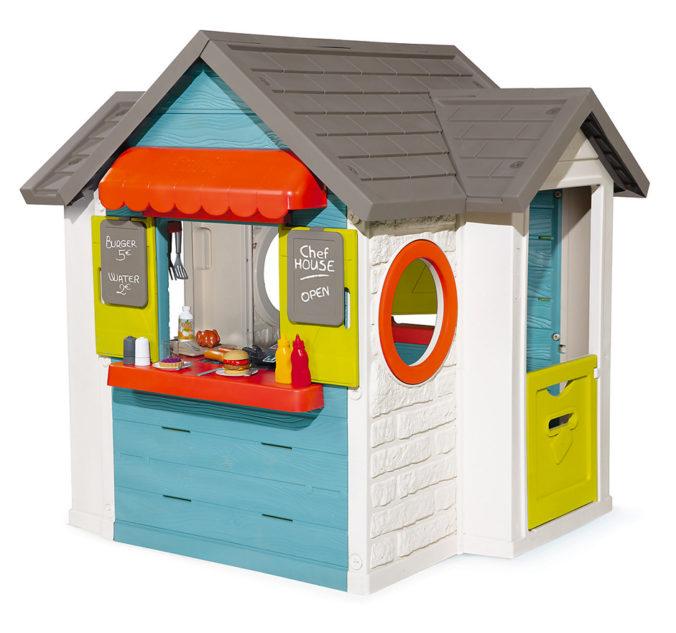 """Smoby Spielhaus """"Chef"""" für Kinder"""