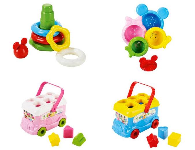 Steck- und Stapelspielzeug für Babys