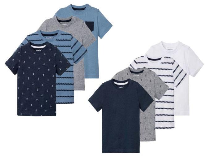 T-Shirts im 4er Pack für Jungen