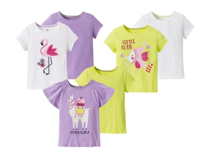 T-Shirts mit Tiermotiv für Mädchen