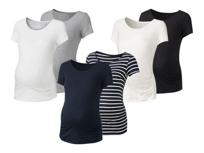 Umstands-T-Shirts in verschiedenen Farben