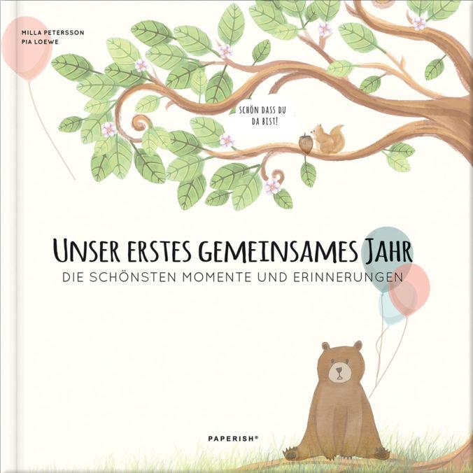 """Babytagebuch """"Unser erstes gemeinsames Jahr"""""""