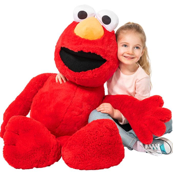XXL Kuschel-Elmo für Kinder