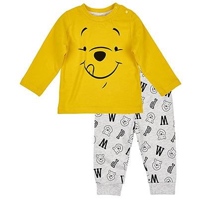 Hose und Langarmshirt mit Winnie Puuh Print für Kinder